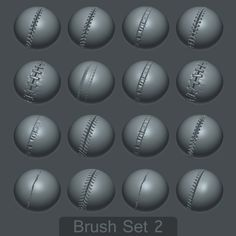 Free Custom Zbrush Brushes Texturas, Mechas
