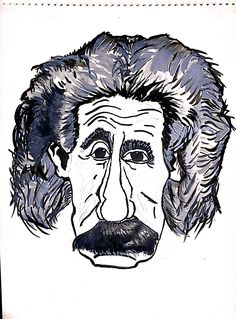 #Einstein #sketch #art #paint #watercolor #genius