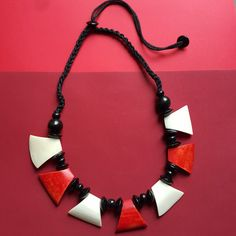 Kalama tribal necklace, , Necklace, Bow & Crossbones, Bow & Crossbones   - 1