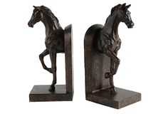 Pair of Walking Horse Bookends on OneKingsLane.com