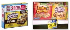 General Mills Cereal Treats, Only $0.49 at Kroger!