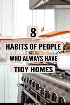 Here are 8 daily cleaning regimen habits that'll help your home stay spotless and tidy! Because, as we all know, the best way to keep a home looking nice is to make sure it's decluttered, organized, and clean! Daily Cleaning, Cleaning Hacks, Home Hacks, Home Look, Clean House, How To Look Better