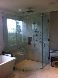A Christian Glass Custom Shower Enclosure Delray Beach Fl