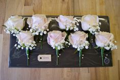 sweet avalanche rose buttonhole - Google Search