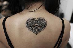 Mandala Heart http://tattooideas247.com/mandala-heart/