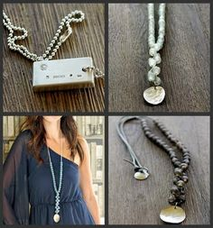 cute jewelry...and love the photos. :)
