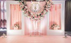 Wedding Backdrop Design, Wedding Stage Design, Wedding Hall Decorations, Engagement Decorations, Backdrop Decorations, Wedding Designs, Flower Wall Wedding, Floral Wedding, Diy Wedding