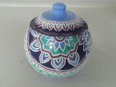 ceramic sugar bowl by Anna Evans 2012