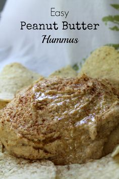 Easy Peanut Butter Hummus | How to be awesome on $20 a day Never running around in an unknown supermarket anymore without finding hummus! Next time we'll make it ourselves!