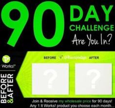 Looking for 5 people to join my 90 day challenge!! Testing products for 90 days.. A product each month either it's the same product or a different one it's completely up to you ..   Only thing I ask is to test the product obviously and also to take a before and after picture!!  This challenge is amazing because not only you get to test it works products but you get my discount price of 40% off the retail price!!   Text/call to join up today   905-741-0293
