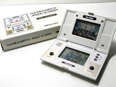 Nintendo Game & Watch Multi Screen Oil Panic OP-51 Boxed MIJ 1982 Free Postage!_