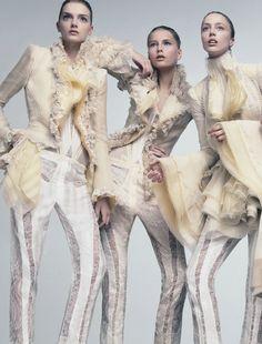 "bvlgaria: "" Lily, Hana and Raquel by David Sims Balenciaga S/S 2006 Ad Campaign """