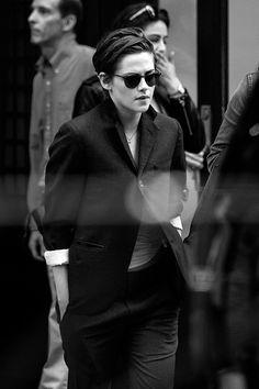 Kristen Stewart leaving her hotel in New York, Oct 7th