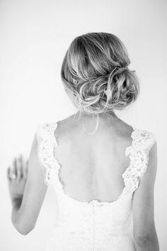 pretty messy updo - bridesmaid hair look Wedding Hair And Makeup, Wedding Beauty, Bridal Hair, Hair Makeup, Messy Hairstyles, Wedding Hairstyles, Wedding Updo, Fall Wedding, Wedding Hair Inspiration