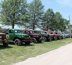 Annual Vintage Dodge Power Wagon Rally information: Rally Events Schedule, Rally Registration, Trail Rides, Teeter Board Contest, Parade, Truck Show & more