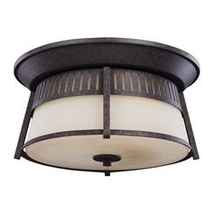 sea gull lighting 8869 sebring 1 light outdoor flush mount ceiling
