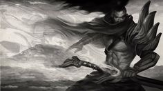Yasuo League of Legends Background Wallpaper 1920×1080