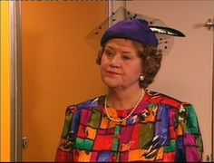 Keeping Up Appearances with Patricia Routledge, who is known as the Lucille Ball of British television. This was one sweeeeet show.