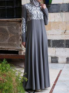 Umniya Embroidered Gown