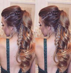 #penteados #tranças #cabelopreso #rabodecavalo #madrinha #formanda #casamento #hair