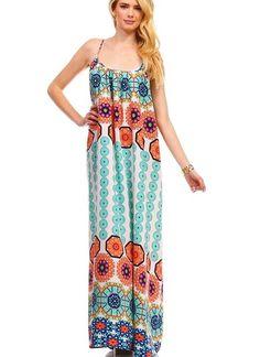 Dahlia Maxi Dress in Mint