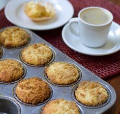 Easy Lemon Streusel Muffins | Girl Gone Gourmet