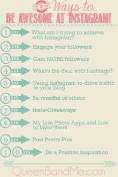 Amazing Online Instagram Class!  10 Ways to be AWESOME at Instagram  #instagram #photos #hashtags