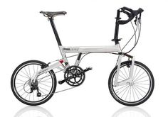 "RIESE & MÜLLER Birthday 10th Anniversary  2005, GER Frame: Aluminium Bicycle gearing: 2×9 Brakes: Rim Side Pull / Rim Side Pull Tyres: 20"" Wired Tyre / 20"" Wired Tyre Weight: 24,03 lbs"