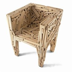 Favela Chair now featured on Fab.