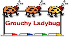 The Very Grouchy Ladybug Activities