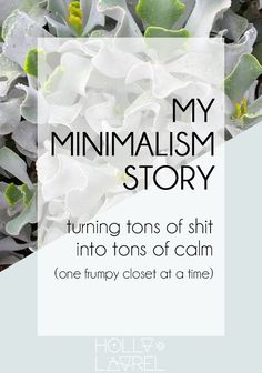 At first, I didn't try Minimalism for any profound reason. My minimalism story began when I was tired of being frumpy. Turns out, my whole life was frumpy. Click through to find out how you can change yours.
