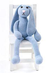 Make It: One Skein Bunny - Free Crochet Pattern & Tutorial #crochet