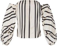 Johanna Ortiz Cotton Silk Striped Frida Top