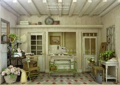 The wonderful flower shop!!!* ♥ Lea Workshop - A Day in the Country ♥ *