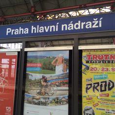 Völlig orientierungslos im Prager Bahnhof. Auf gehts weiter richtung Wien