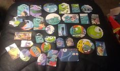 Monsters Inc scrapbooking die cuts upcycled book card by amylaugh, $5.95