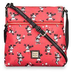 Disney Mickey and Minnie Mouse Retro Large Crossbody Bag by Dooney & Bourke - Red Disney Handbags, Disney Purse, Purses And Handbags, Coach Handbags, Fashion Handbags, Dooney And Bourke Disney, Disney Dooney, Dooney Bourke, Mickey Mouse