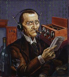 Kurt Günther, The Radioist (1927)