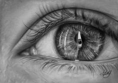 Eye drawing by kansineedegraefart.deviantart.com on @deviantART
