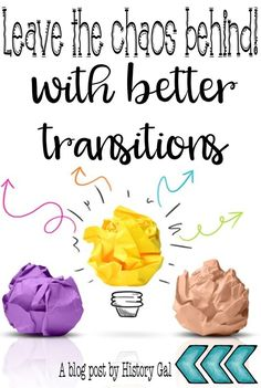 5 ideas for better activity transitions in middle and high school classes Middle School Classroom, Preschool Classroom, School Teacher, Classroom Teacher, Classroom Ideas, Classroom Routines, Primary Classroom, Teacher Stuff, Classroom Organization