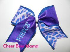 FIERCE... Cheer Bow by Cheer Bow Mama