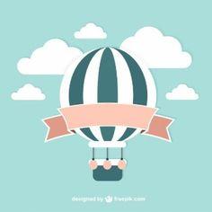 globos aerostaticos ilustraciones - Buscar con Google