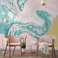 Marble Wallpaper Is the Latest Trend You'll Want Your Home to Rock