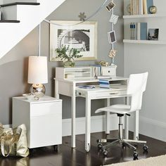 I am SO bummed that West Elm doesn't make the Jay desk anymore. The desk was included in a BH article on nice guest room touches.