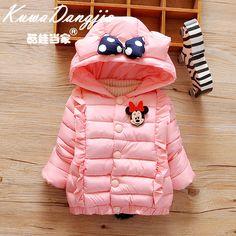 Детские куртки осень-зима из Китая :: Новые зимние пальто младенца 0-1 ребенка толщиной хлопка мягкий куртка для девочек у новорожденных детей 2-3 года и половину хлопка пальто.