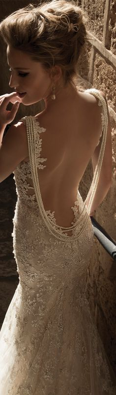 too risqué for me but DANG gorgeous! PRICILLA: Galia Lahav Haute Couture featuring the La Dolce Vita Collection