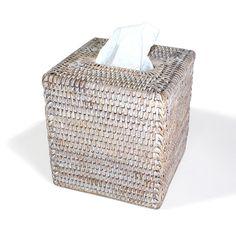 BAM001-WW: Square Tissue Box