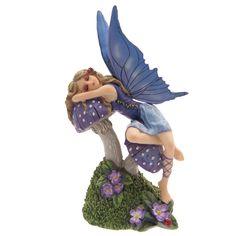 Lisa Parker - Tales of Avalon Slapende Fee Fairy Figurines, Collectible Figurines, Sleeping Beauty Fairy Tale, Lulu Shop, Lisa Parker, Gothic, Fantasy Gifts, Nature Spirits, Mushroom Art