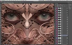 Using Clip Masks and Drop Shadows to Turn Portraits Into Sculpturesque Images