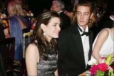Charlotte and Pierre Casiraghi in Monaco on March 24 2007